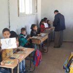 Affaires scolaires pour les réfugiés syriens - octobre 2014