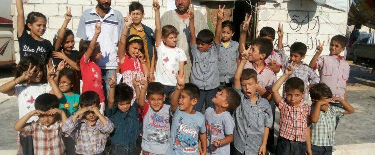 Habits pour les enfants syriens – Août 2014