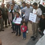 Rassemblement pour dénoncer le massacre de al Houllé - 2/6/12