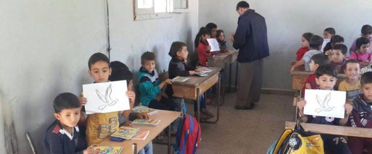 Affaires scolaires pour les réfugiés syriens – octobre 2014