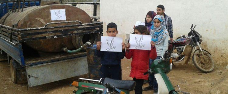 un peu de chaleur pour l'école des réfugiés – janvier 2015