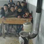 Un peu de chaleur pour l'école des réfugiés 2 - Décembre 2015