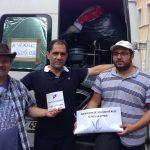 Envois d'une camionnette de médicaments - 26/07/16