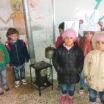 Un peu de chaleur pour les écoliers syriens - Février 2018