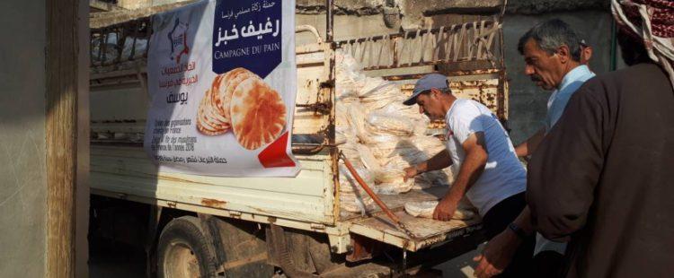 Fabrication et distribution de pain – Juin 2018