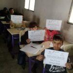 Un peu de chaleur pour les écoliers syriens - Décembre, Janvier et Février 2019