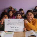 Un peu de chaleur pour les écoliers syriens - Février 2020