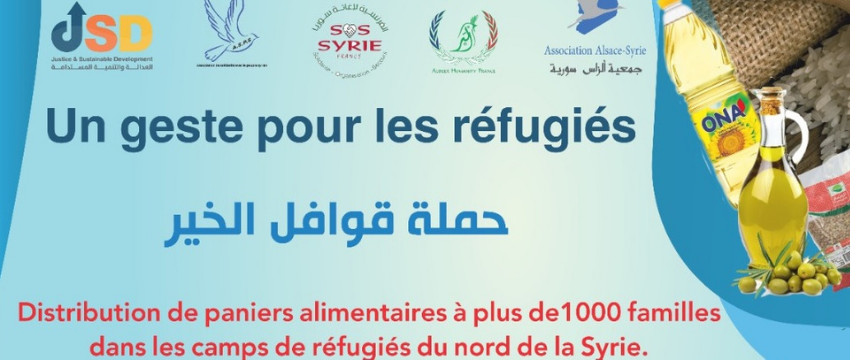 Distributions paniers alimentaire – avril 2021