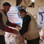 Distribution de paniers alimentaires - Mars/Avril 2021