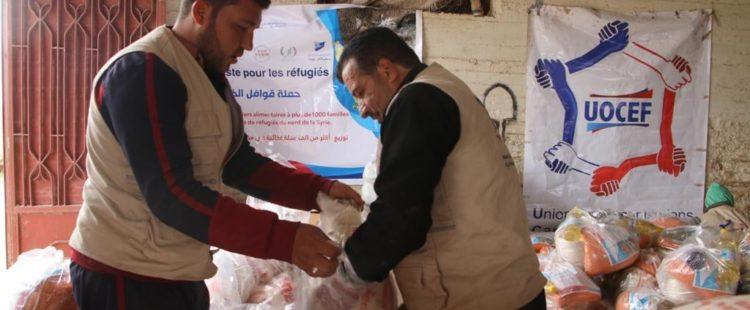 Distribution de paniers alimentaires – Mars/Avril 2021